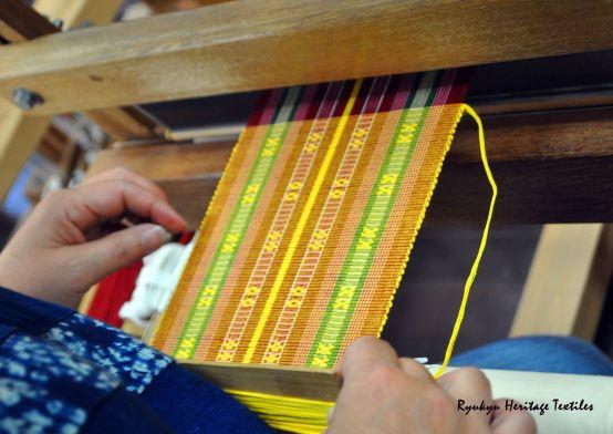 Shuri Hana Ori on my Loom