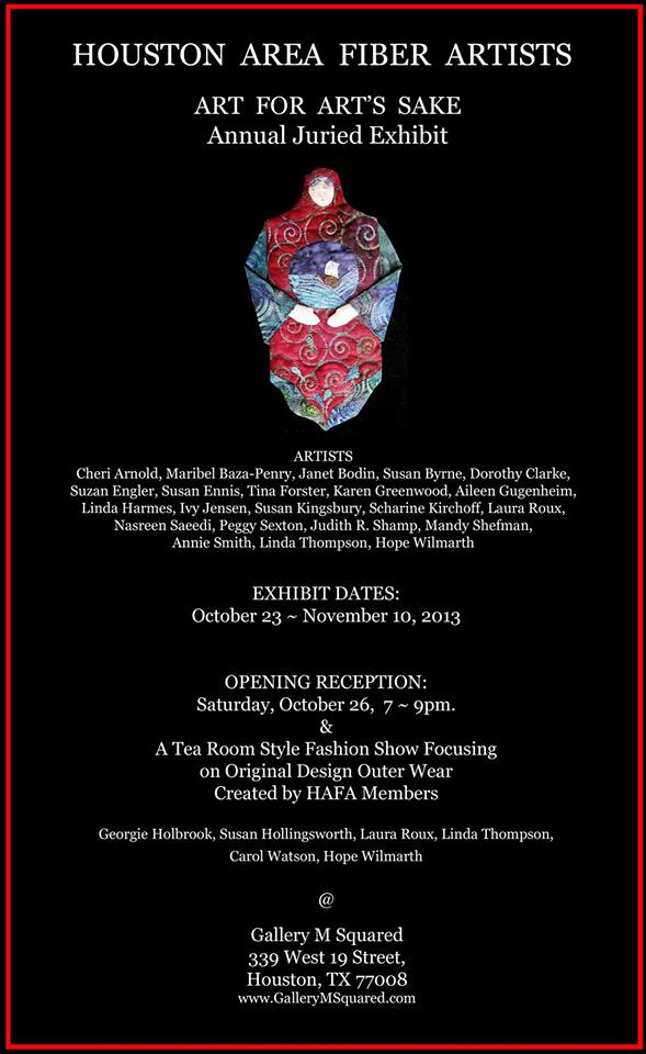 Exhibition:  HAFA Gallery Show…Houston, TXUSA