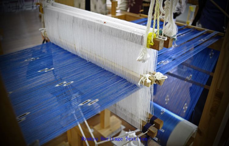 Kasuri Warp Threads_w